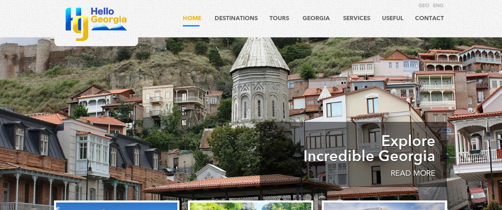 Travel company Hello Georgia